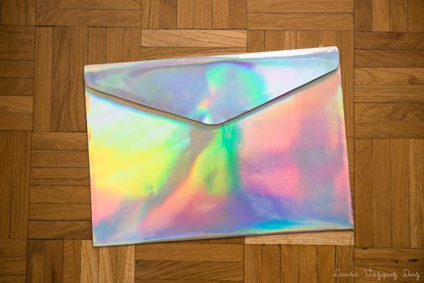 DIY Clutch Holográfico