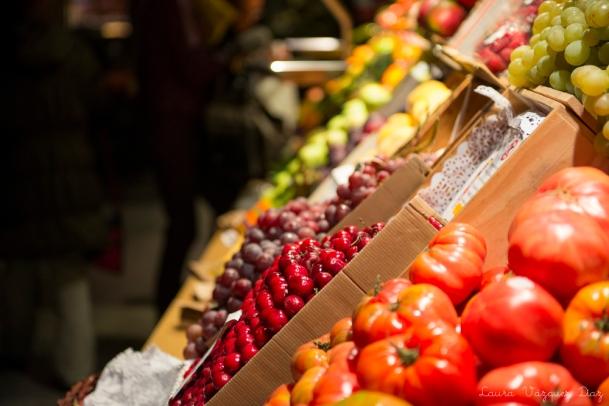 Frutería en el Mercado de San Miguel