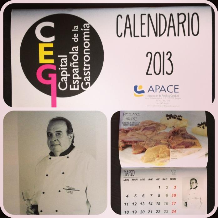 calendario gastronómico-solidario