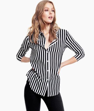 H&M camisa rayas 14,95euros