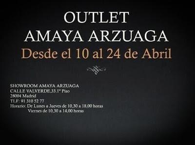 Outlet Amaya Arzuaga