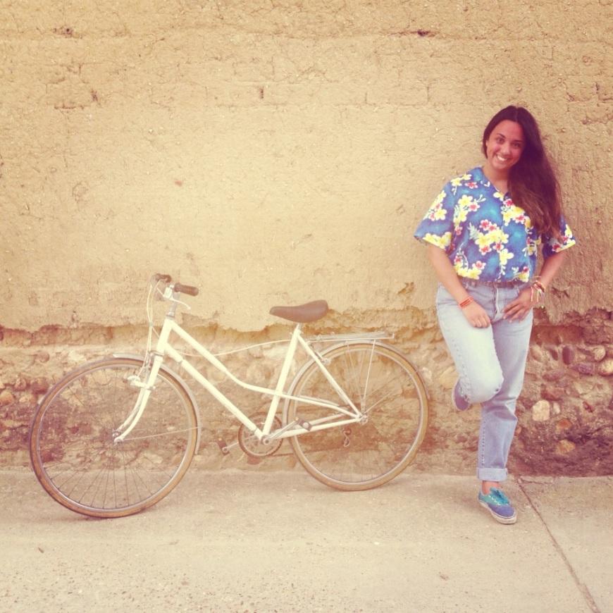 bici de paseo nueva