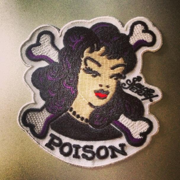 Poison Sailor Jerry Parche
