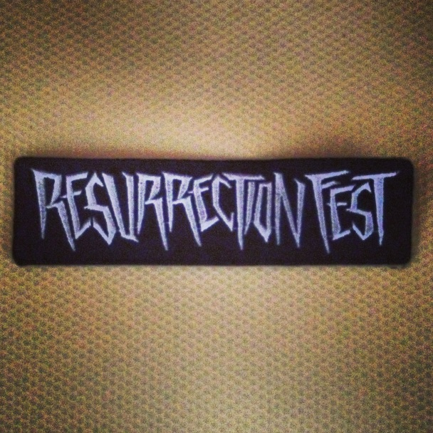 Resurrection Fest Parche
