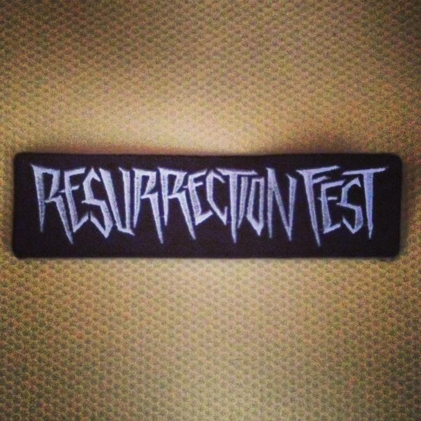 Resurrection Fest Parche