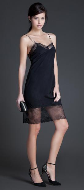 Comprar vestido lencero negro