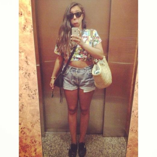 foto espejo ascensor