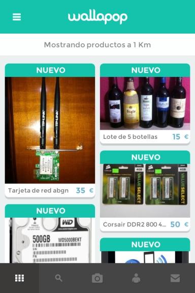 Wallapop productos