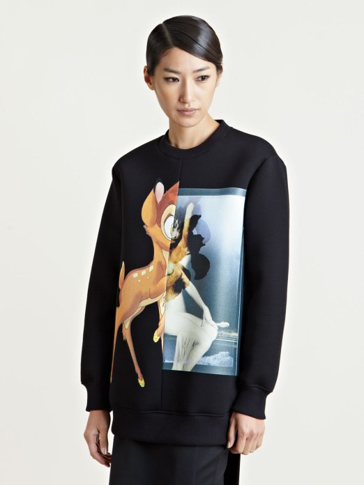 Givenchy sudadera neopreno Bambi