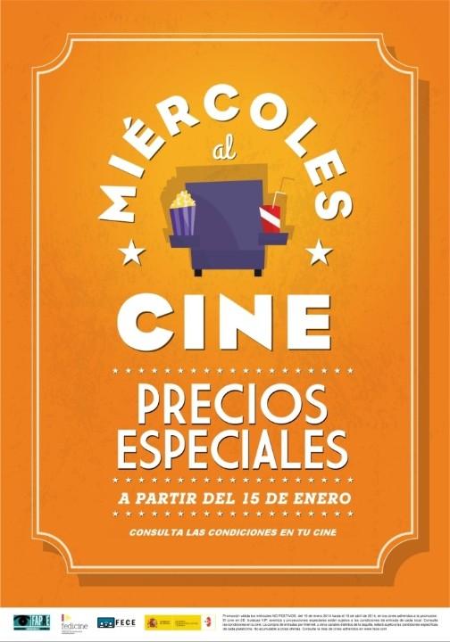 cartel miércoles al cine