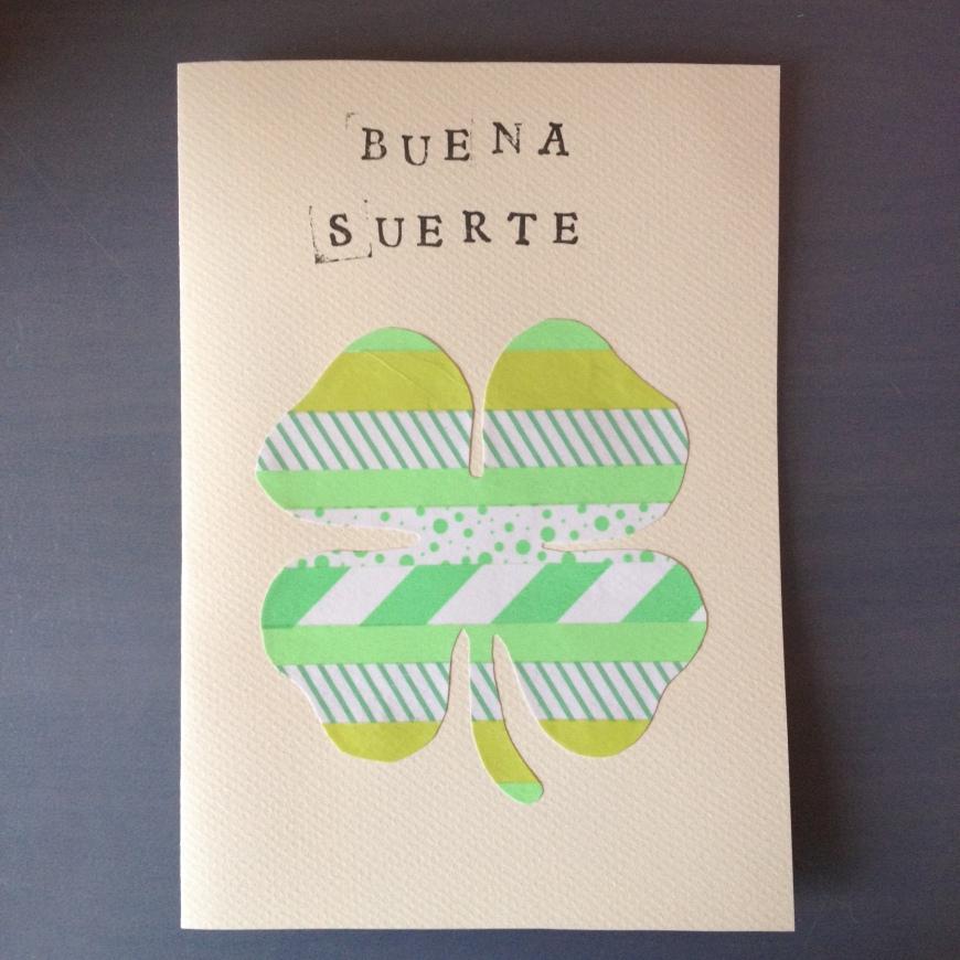 Postal Buena Suerte