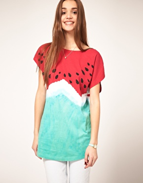 camiseta asos watermelon